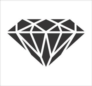 برچسب الماس